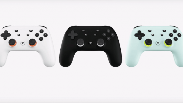 Google Stadia Gaming Controllers