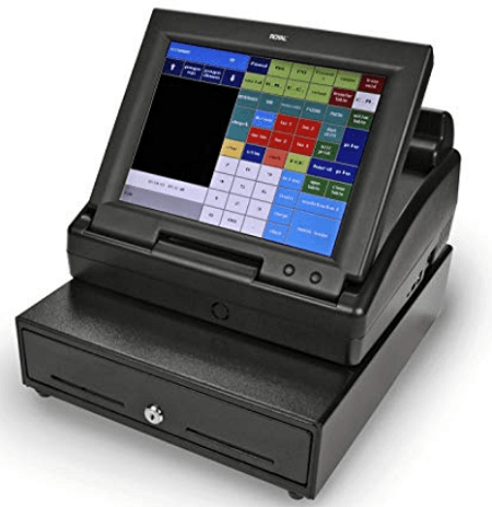 Royal TS1200MW cash register for small business use