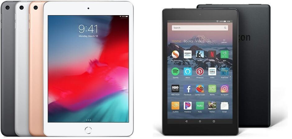 Apple iPad vs Amazon Fire Tablet - Which is Best? | Tech co