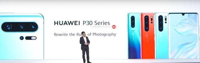 huawei P30 launch