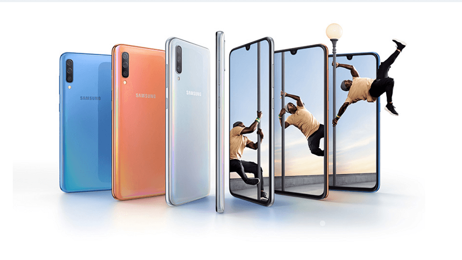 Samsung Unveils New A70 A50 And A30 Mid Range Phones