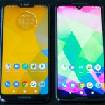 moto g7 power plus side by side with g7 plus