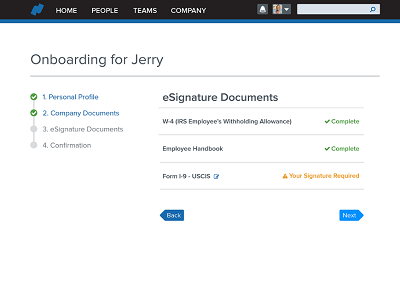 Namely Onboarding