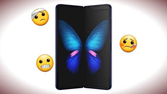 Samsung Galaxy Fold Screen Breaking