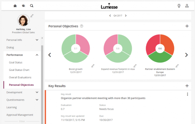 Lumesse Objectives Overview