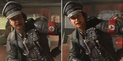 wolfenstein swastika ban