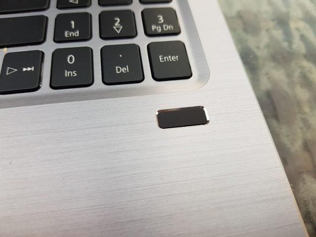 FIngerprint sensor on Acer Swift 3