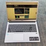 Acer Swift 3 web browsing