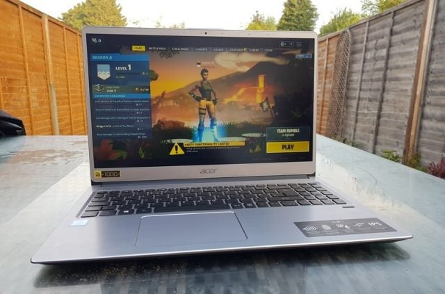Gaming on Acer Swift 3
