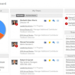 UltiPro performance management talent dashboard