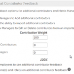 UltiPro software offers contributor feedback