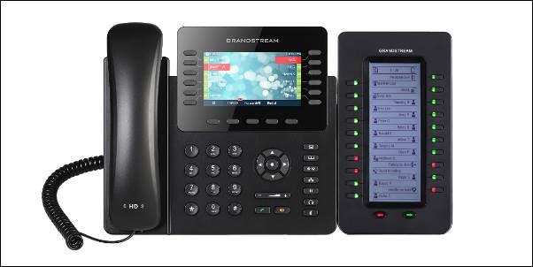 Grandstream GXP2170 VoIP desk phone