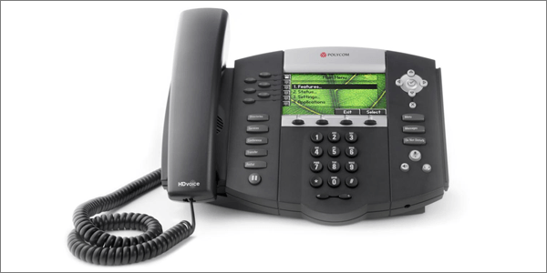 Polycom SoundPoint IP series VoIP desk phone