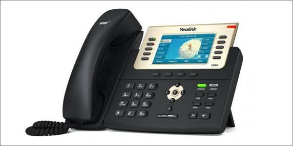 Yealink SIP T29G VoIP desk phone