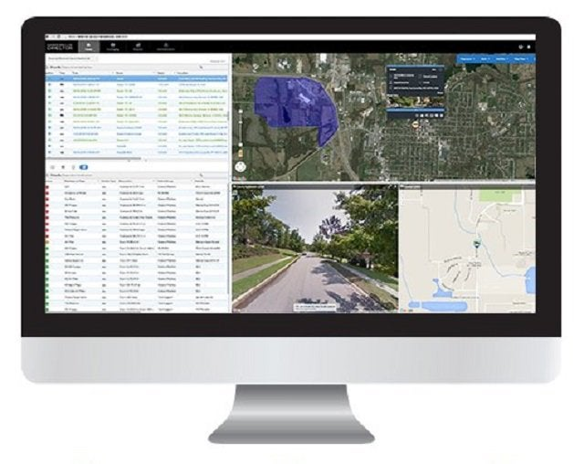 Teletrac Navman fleet management software dashboard