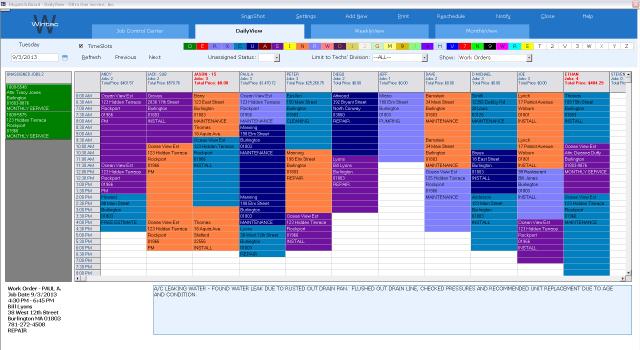 Wintac Scheduling