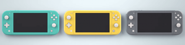 Nintendo Switch Lite colors
