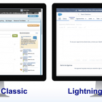 Salesforce interfaces: Classic vs. lightning