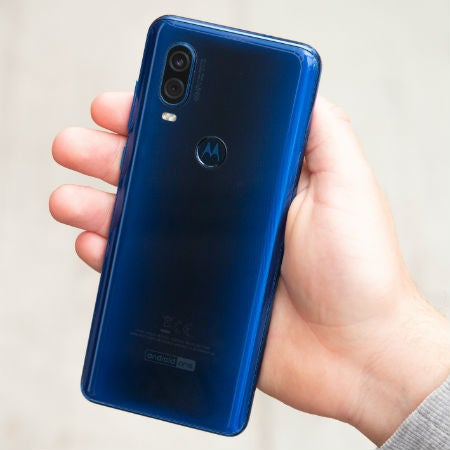 Motorola One Vision rear case