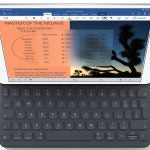 ipad air with keyboard