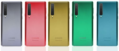 Samsung galaxy note 10 colors