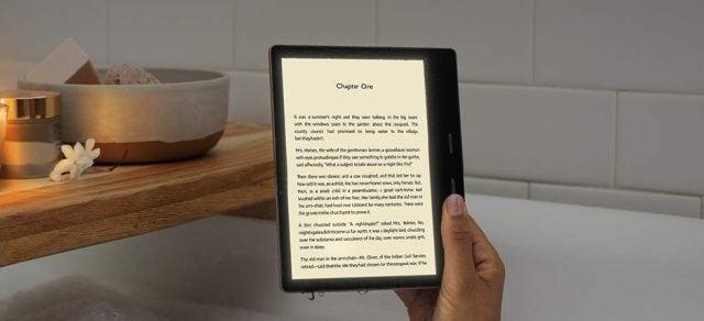 Amazon Reveals New Eye-Friendly Kindle Oasis