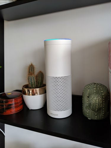 amazon echo first generation side on