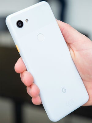 google pixel 3a in hand