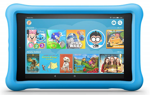 The mid-range Amazon Fire 8 HD Kids