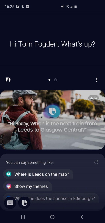 Samsung Galaxy S10 Plus Bixby