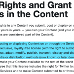 Twitter Terms of Service