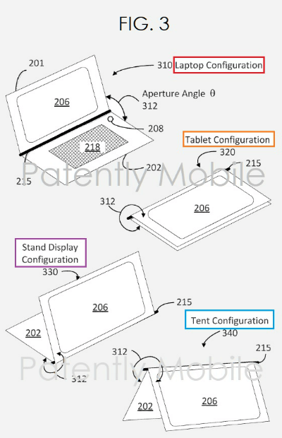 Patently Apple Google Device Patent
