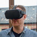 Oculus Quest Headset Close Up