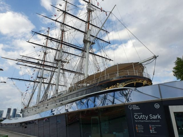 photo of the cutty sark taken on the samsung galaxy s10 5g