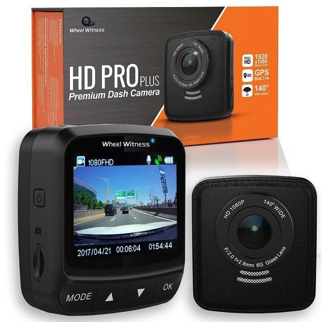 WheelWitness HD Pro Plus dash cam for truckers