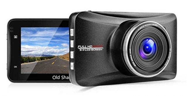 Old Shark dash cam for truckers