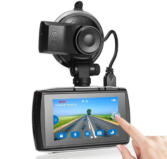 Z Edge dash cam for truckers