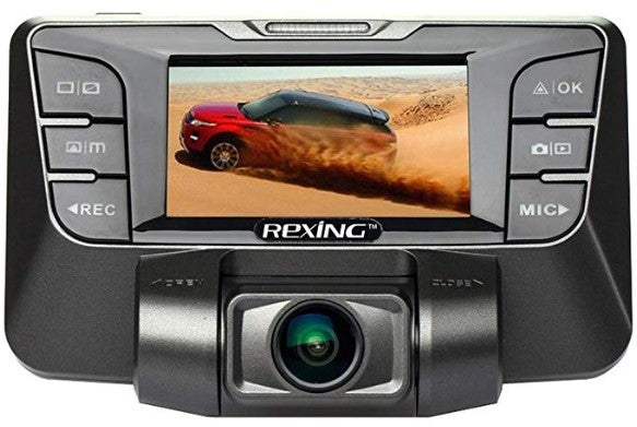 REXING S300 dash cam for truckers