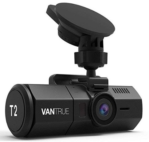 Vantrue T2 dash cam for truckers