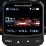 Wheelwitness dash cam night view