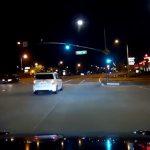 Roav dash cam: Night vision in use