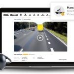 Verizon Connect Reveal software with dash cam