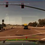 360 degree view of running a red light