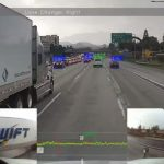 360 degree view: Passing a truck