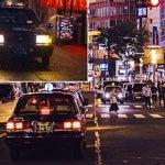 Rexing V1P dash cam night footage