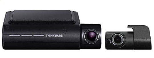 Thinkware front and rear dash cam