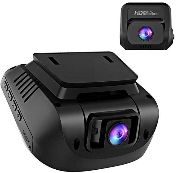 Crosstour front and rear dash cam