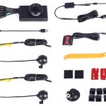 Vsysto front and rear dash cam with wires