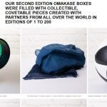 COOL HUNTING Omakase products displayed on Squarespace