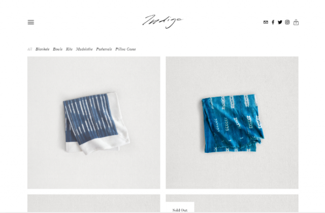 scarf online store template